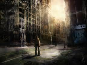 City in ruins by andygarcia666 on deviantart