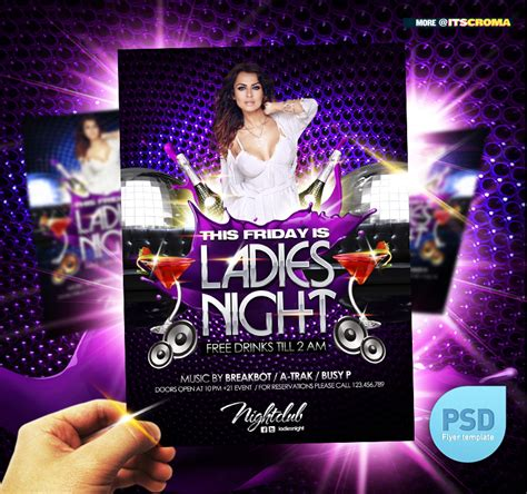 club flyer templates psd psd club flyer by itscroma on