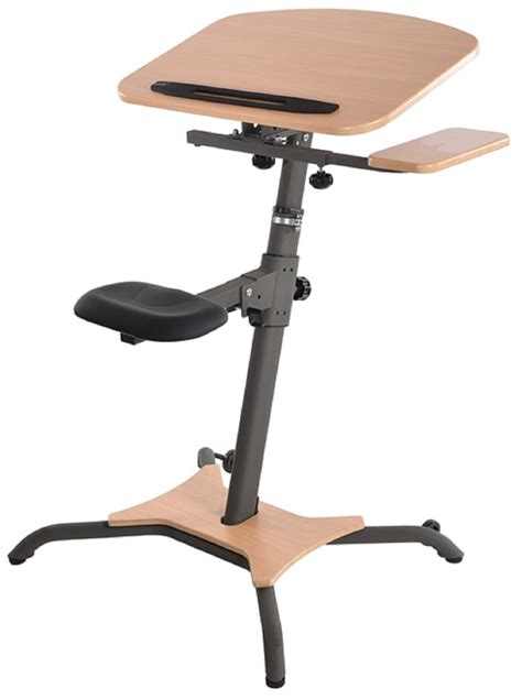 Stand Up Computer Desks Stamina Wirk Linea Adjustable Stand Up Workstation Computer Desk Office Fitness Ebay