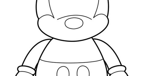 disney vinylmation coloring page mickey vinylmation template by errantscarecrow on