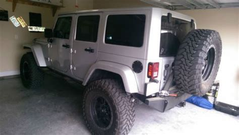 Jeep Wrangler 3rd Row Purchase Used 2012 Jeep Wrangler Unlimited Silver 3 5