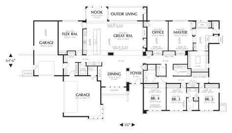 mascord house plan 1333 house plans in laws and outdoor