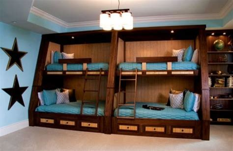 4 Bed Bunk Beds 22 Bunk Beds For Four A Space Saving Solution For Shared Bedrooms