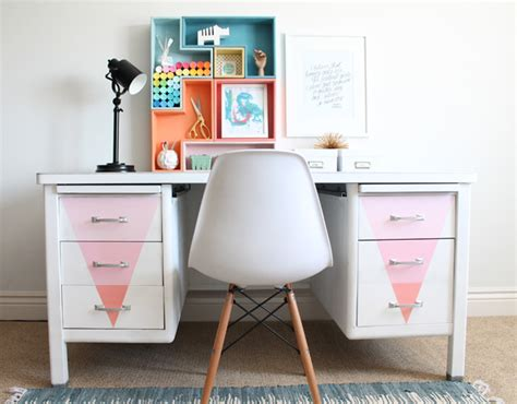 chalk paint desk desk makeover with chalky finish paint my s
