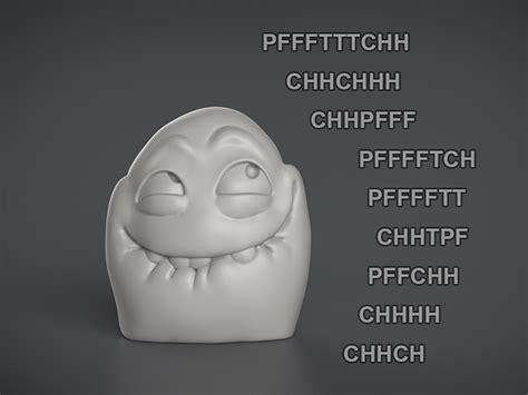 3d Meme - meme 3d printing challenge manuel poehlau cgtrader com