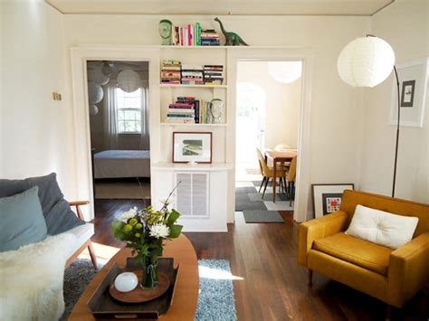 mid century apartment how liz moved in a 50 smaller house keeping all her