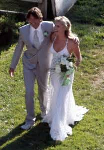 Vera Wang Wedding Dresses 2010 Jerry O Connell And Rebecca Romijn Wedding
