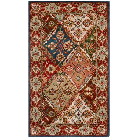 safavieh heritage accent rug in red green hg421a 2 safavieh heritage green red 2 ft x 3 ft area rug hg316b