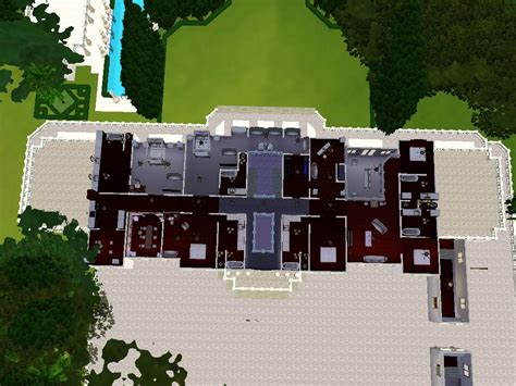 Fleur De Lys Mansion Floor Plan | mod the sims fleur de lys a mansion hidden within itself