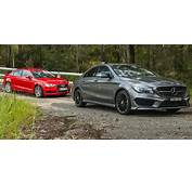 Audi A3 Sedan V Mercedes Benz CLA Class  Comparison Review