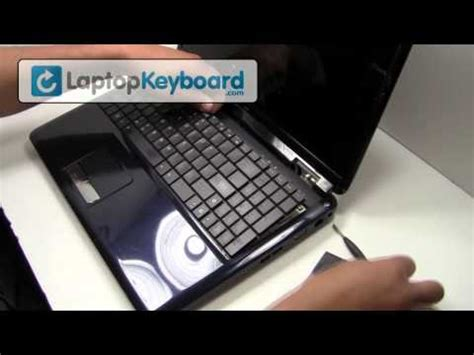 Laptop Asus N43s I3 how to take replace keyboard in asus a45v laptop funnydog tv