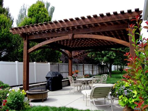 patio arbor plans 55 best backyard retreats with pits chimineas