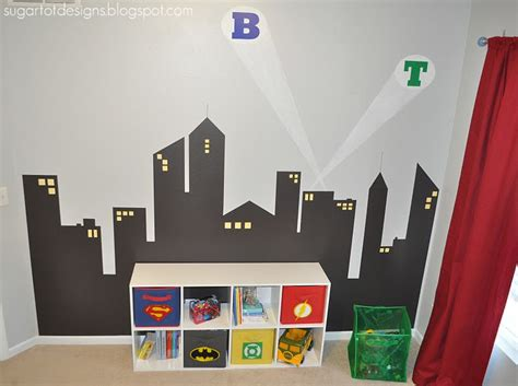 superhero bedrooms remodelaholic boys superhero bedroom