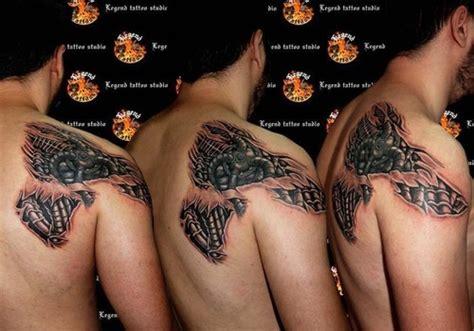 robotic tattoo cyborg tattoos photos