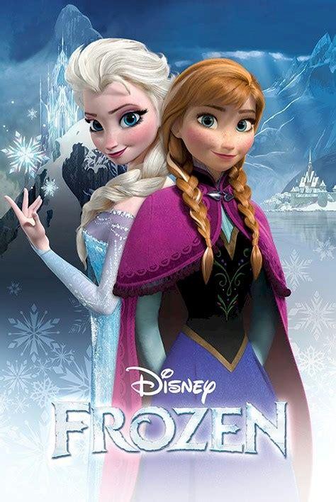 frozen film elsa s sister frozen movie poster sisters 24x36 disney snow queen