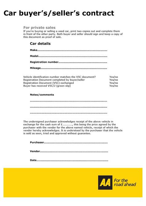 used car purchase agreement template 42 printable vehicle purchase agreement templates