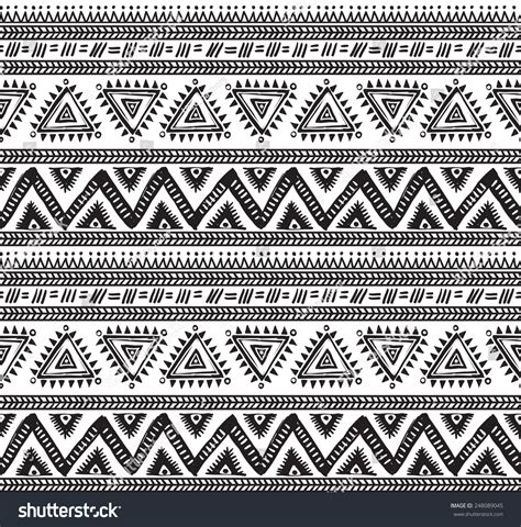 tribal geometric pattern vector tribal striped seamless pattern geometric stock