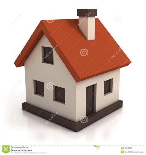 cartoon house design house icon royalty free stock photos image 19349838
