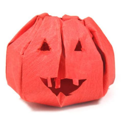 Origami O Lantern - how to make an origami o lantern for page 1