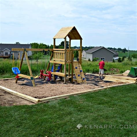 awesome backyard playgrounds summer spotlight diy show off diy decorating and