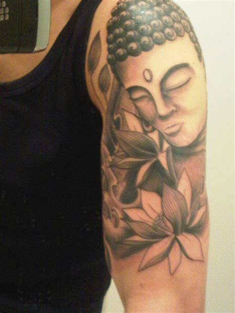 lotus tattoo half sleeve buddha lotus half sleeve tattoo picture at checkoutmyink com