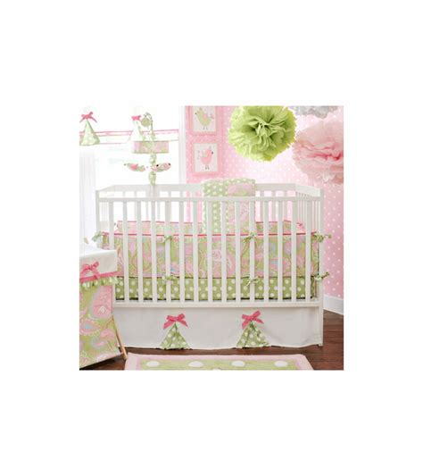 My Baby Sam Pixie Baby Pink 3 Piece Crib Bedding Set My Baby Sam Crib Bedding