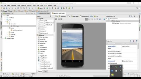 add background image  android studio youtube