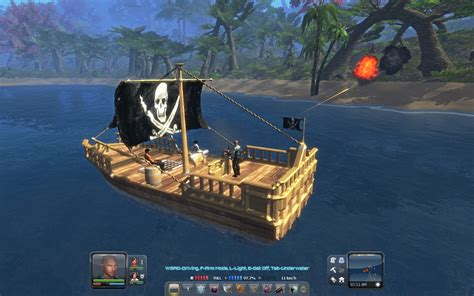small boat on a pirate ship planet explorers isos small pirate sailing ship