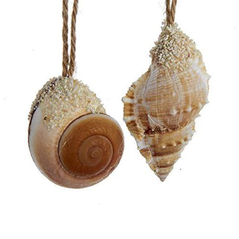 25 best ideas about seashell christmas ornaments on