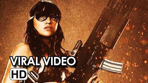 michelle rodriguez movies list machete kills promo video is all about michelle