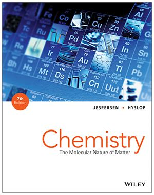 Chemistry The Molecular Nature Of Matter Change 7th Edition 1 chemistry the molecular nature of matter 7th edition