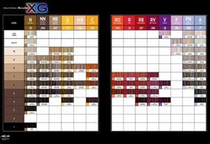 pm shines color chart paul mitchell xg color chart hairstylegalleries