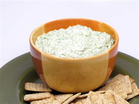 vegetable dip 400 calories or less
