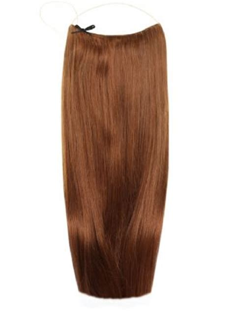halo hair extension with chin lenght hair the halo
