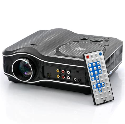 In Projector wholesale dvd projector led projector with dvd player from china