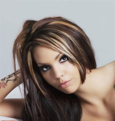 pictures of hair with highlights slideshow
