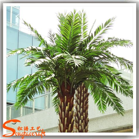 for garden decoration cheap artificial palm trees sale