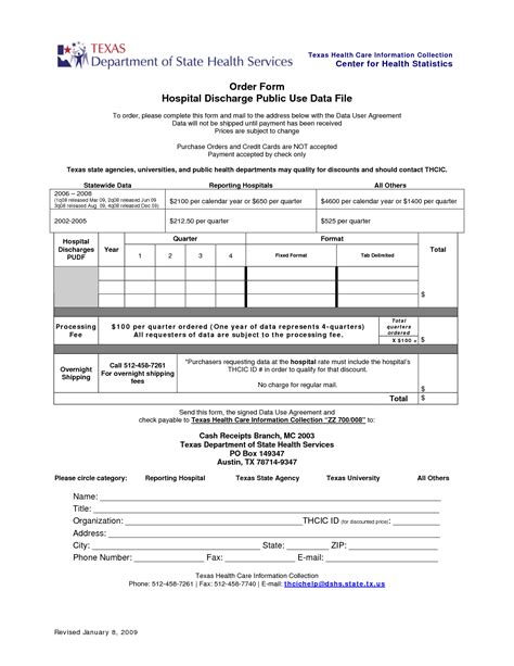 Best Photos Of Hospital Discharge Papers Printable Pdf Hospital Discharge Forms Pdf Hospital Hospital Discharge Papers Template