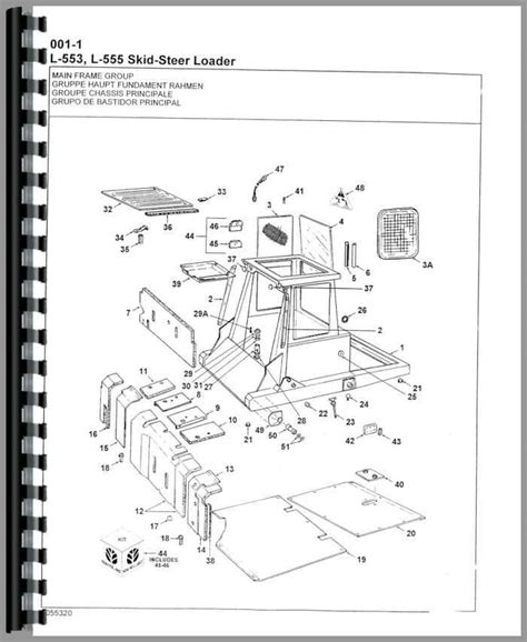 new l555 skid steer parts diagram new free