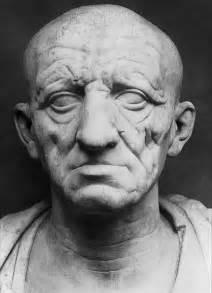 Head of a roman c 80 b c portrait based on a death mask 1st c b