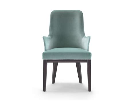 upholstered dining chair with armrests me chair with armrests by flexform design roberto lazzeroni