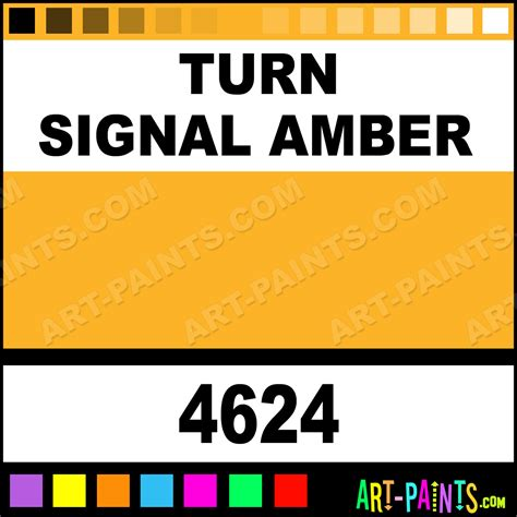 turn signal artist acrylic paints 4624 turn signal paint turn signal