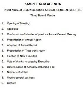 Extraordinary General Meeting Minutes Template by 205 Professional Meeting Agenda Templates Demplates