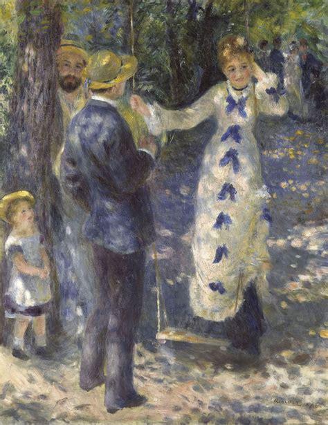 La Balancoire Renoir la balan 231 oire panorama de l