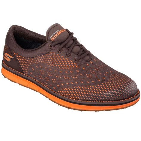 Skechers Golf Shoes by Skechers Mens Go Golf Tour Golf Shoes Waterproof Spikeless