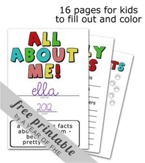 all about me book template all about me back to school printable booklet