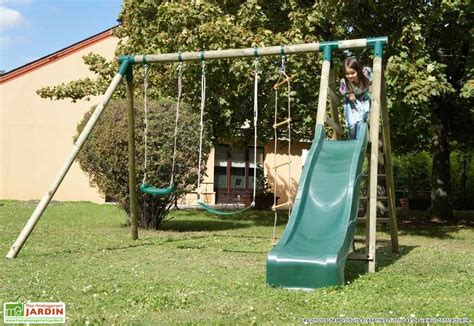 fabriquer portique balancoire fabriquer balancoire great fabriquer une balanoire