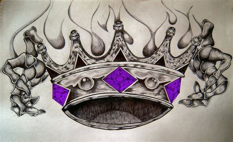 king crown tattoo design 32 king crown tattoos designs