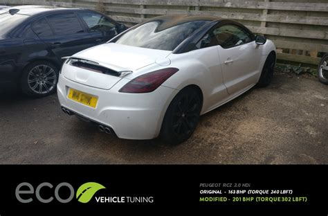 peugeot rcz tuning peugeot rcz 2 0 hdi ecu remap eco vehicle tuning