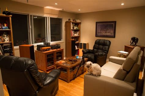living room acoustic treatment helping a canadian audiophile analyze and improve his room